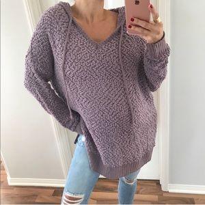 Sweaters - Purple snuggle hoodie